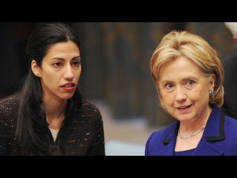 BREAKING: Hillary Clinton signed deal that let Huma Abedin double dip on salaries